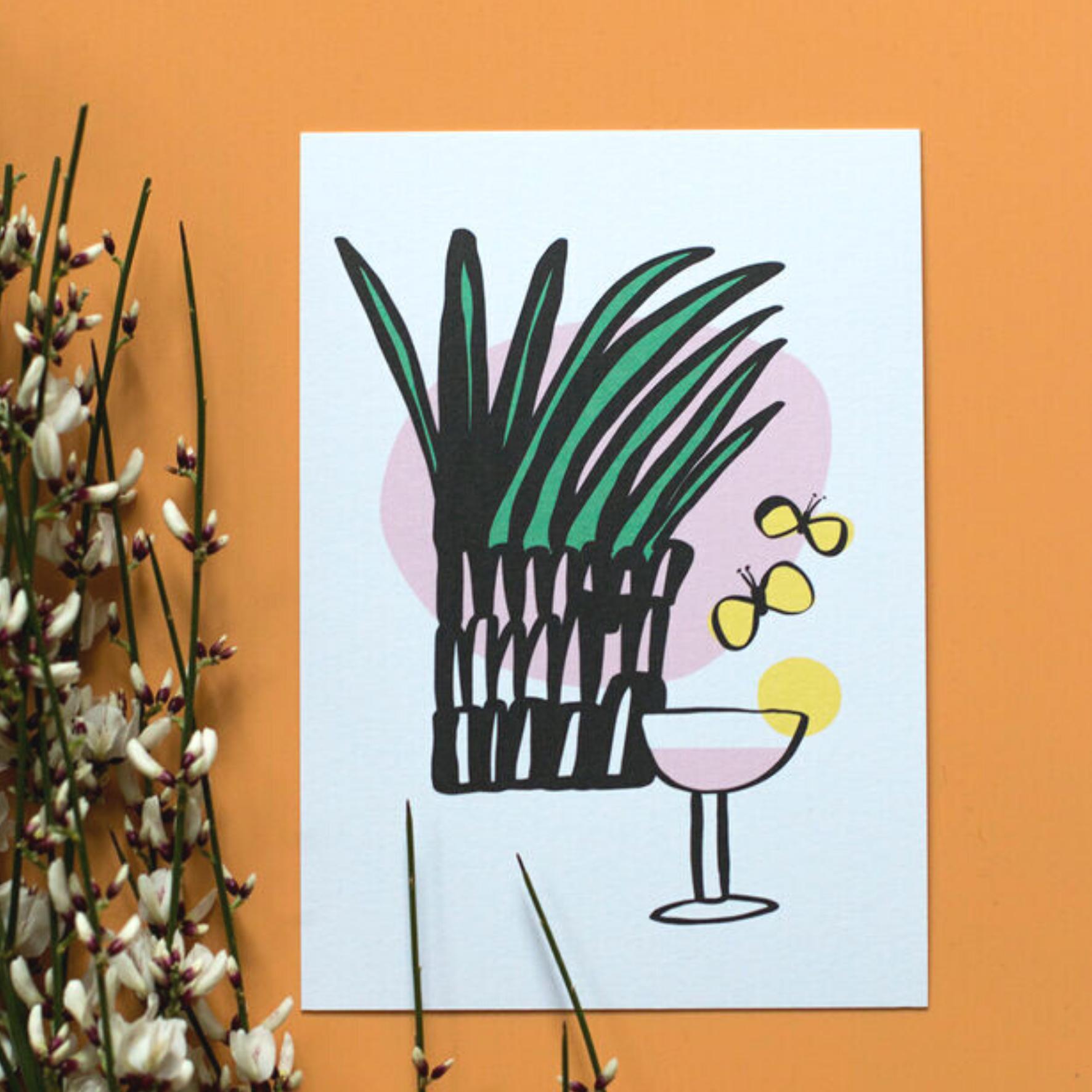 Drinkki postikortti - Kuviokioski