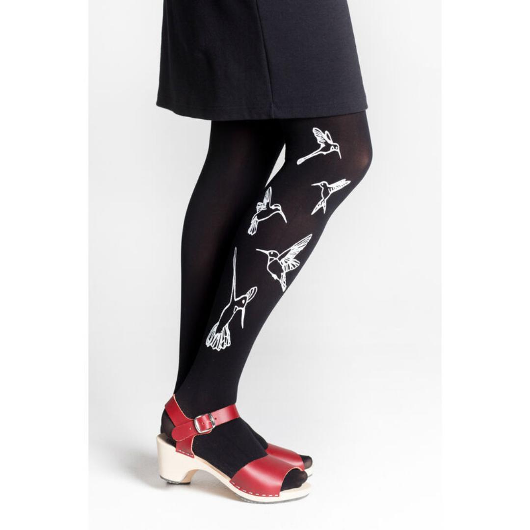 Mustat Kolibri sukkahousut - Mary a. Jalava
