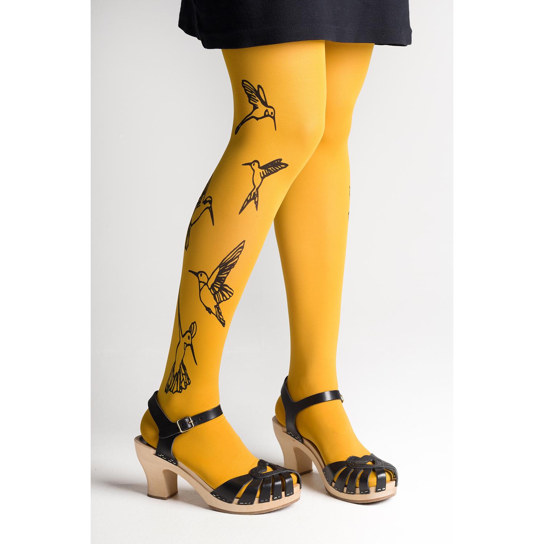 Kolibri sukkahousut, keltainen- Mary a. jalava