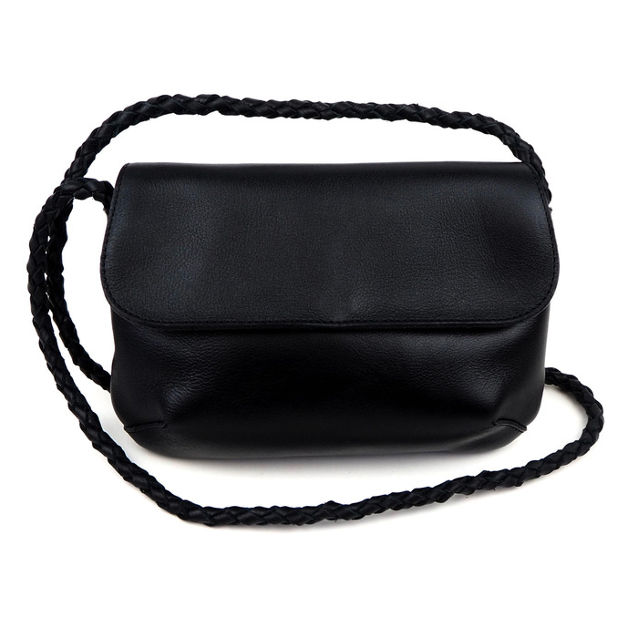 Musta NoBow laukku - Cobblerina