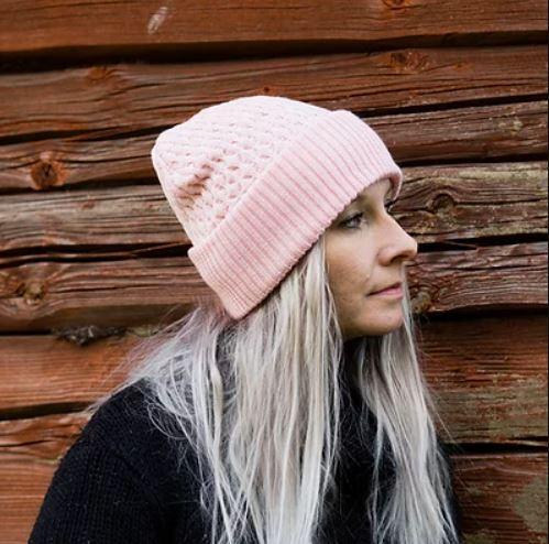 Vaaleanpunainen Ahma merinopipo - Kauneve