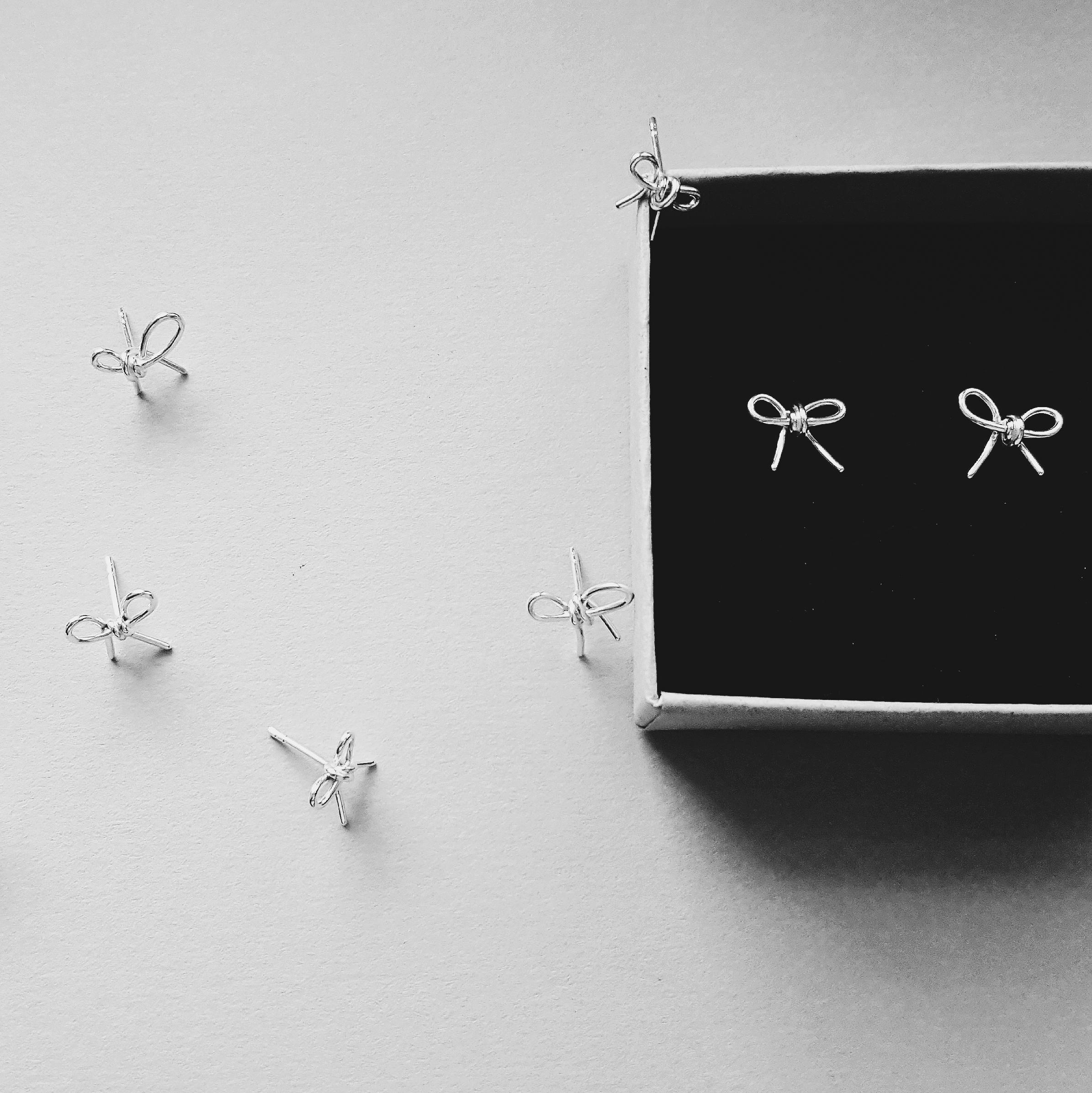 Rusetti korvakorut - Marika Tiukkanen