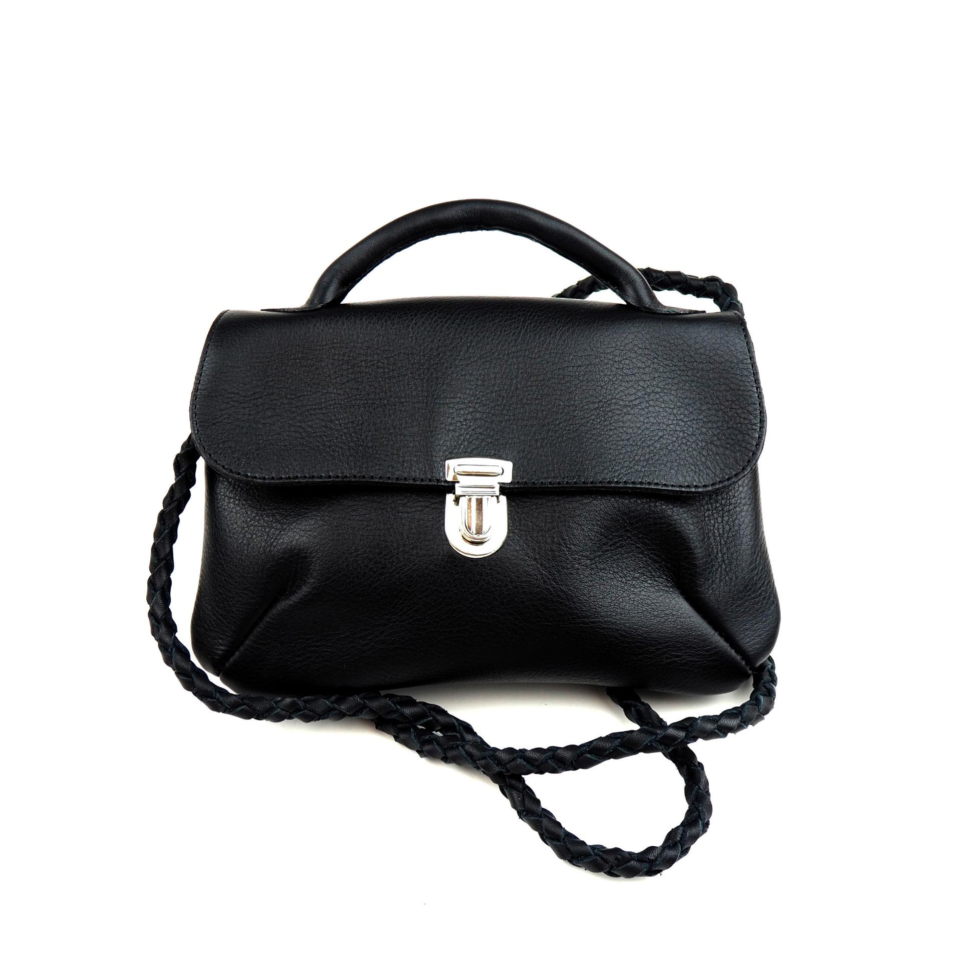 Musta London-laukku - Cobblerina