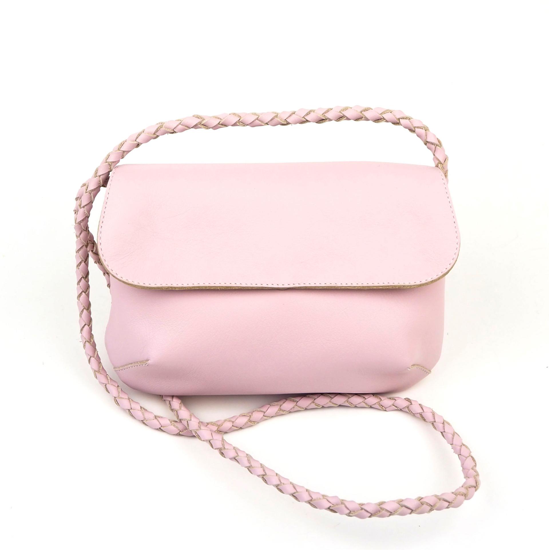Vaaleanpunainen NoBow-laukku - Cobblerina