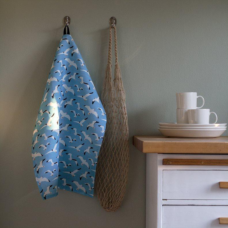 Lokki keittiöpyyhe - Kuviokioski