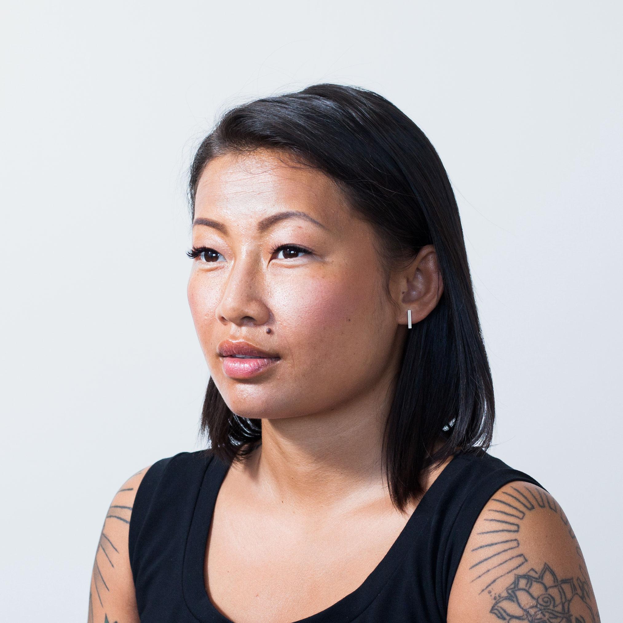 Bar earrings - Karina