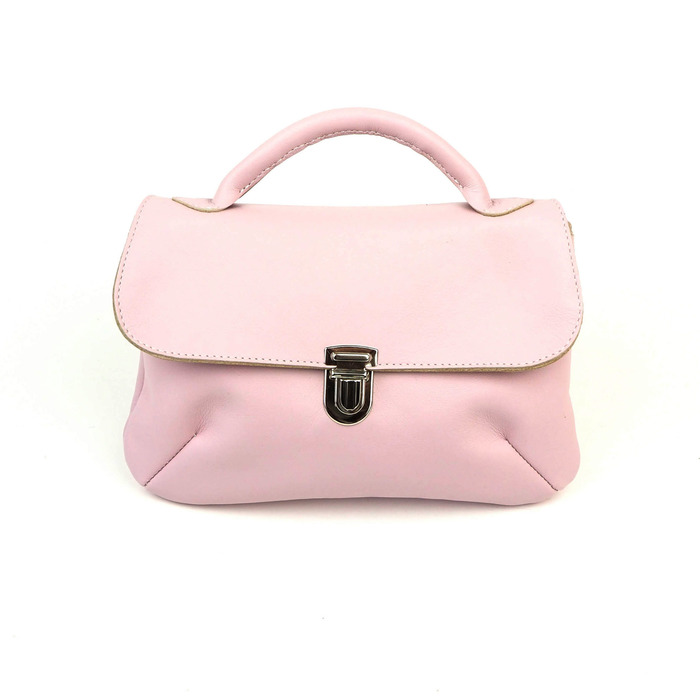 Vaaleanpunainen London-laukku - Cobbelrina