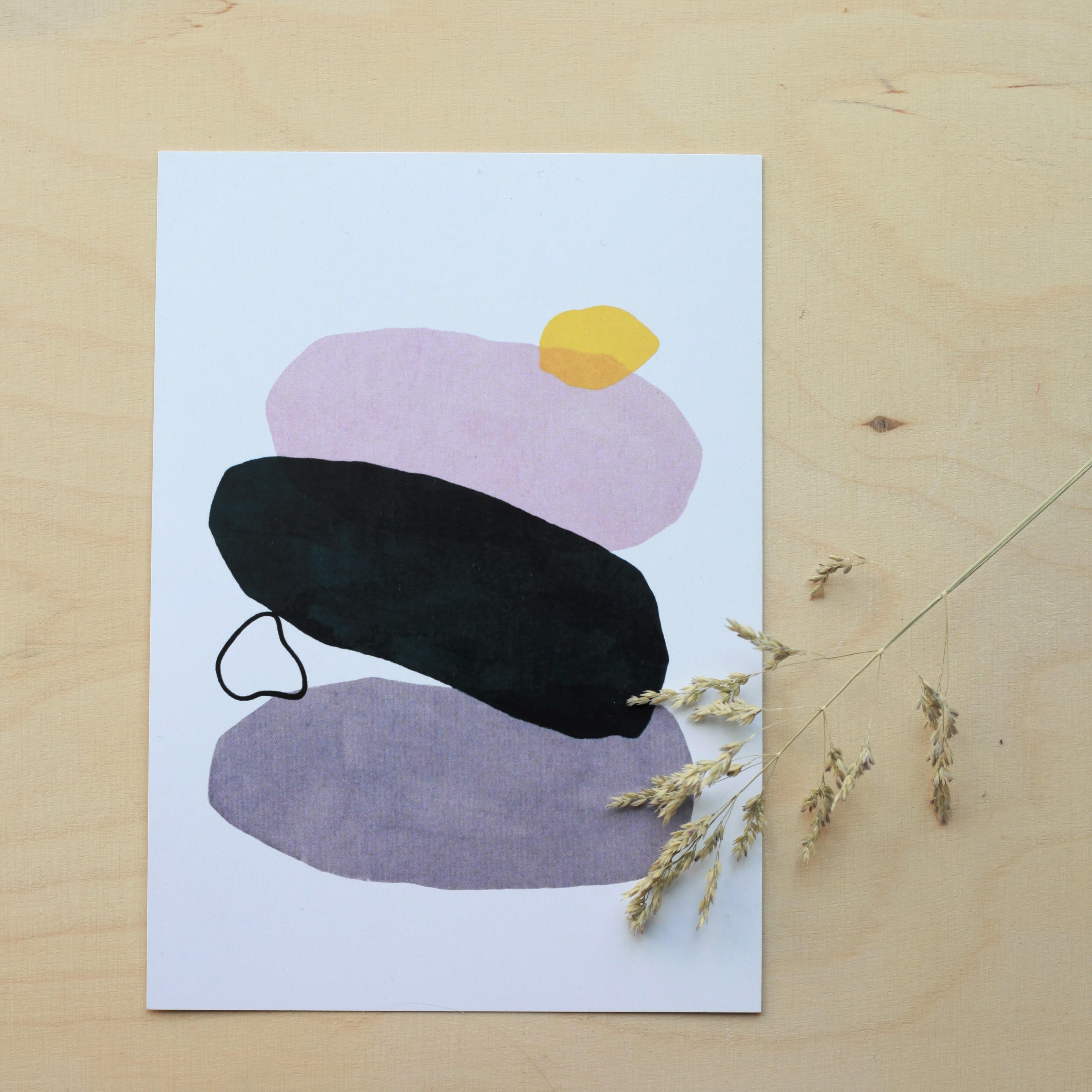 Pebbles postikortti - Annasari