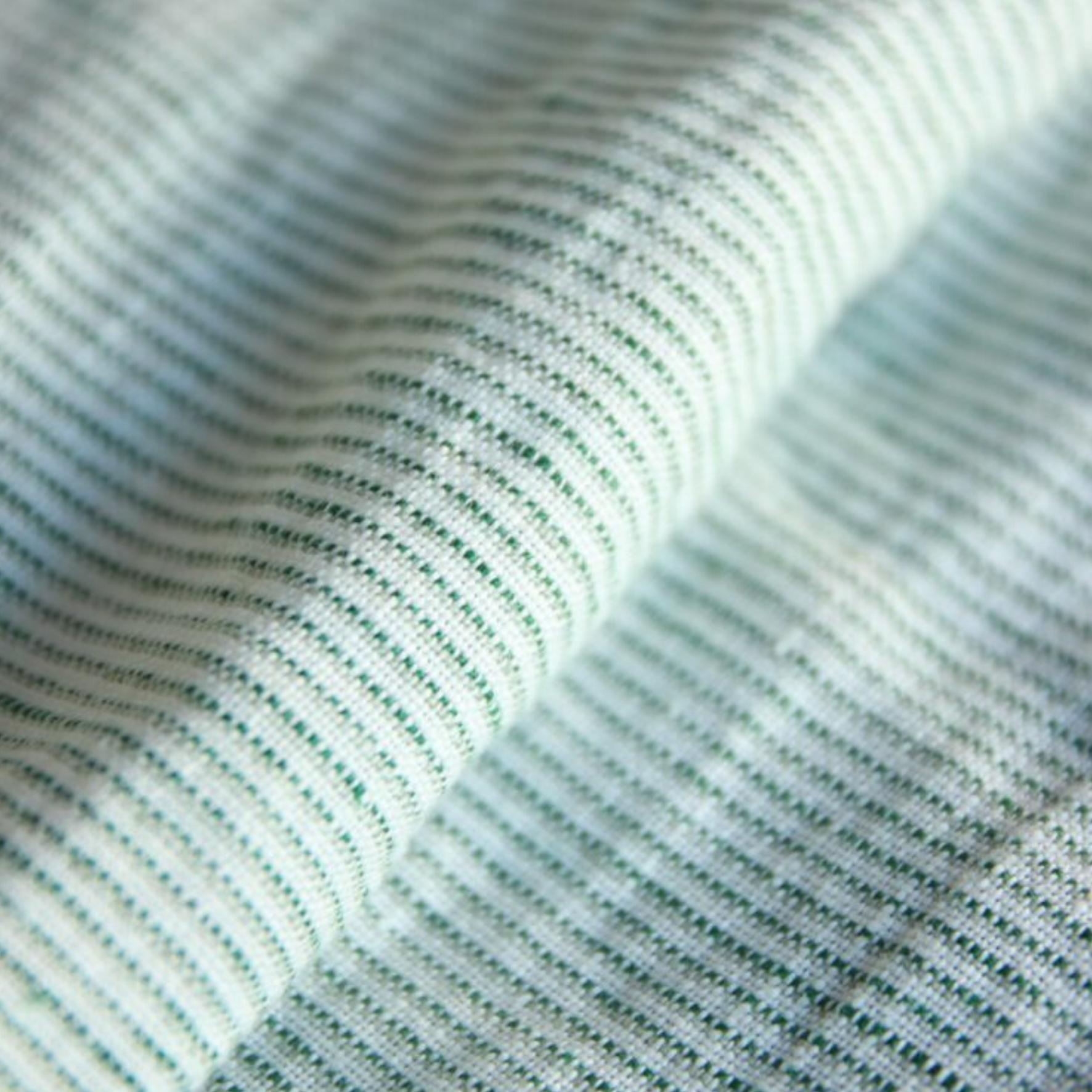 Vihreä-valkoraidallinen Hay midimekko - Nouki