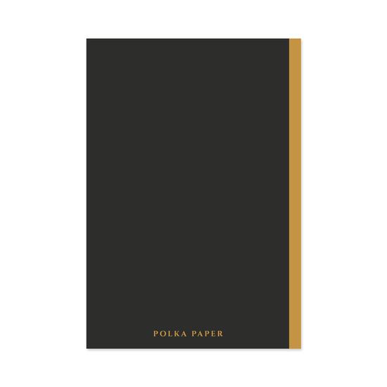 Kuu taskuvihko - Polka Paper