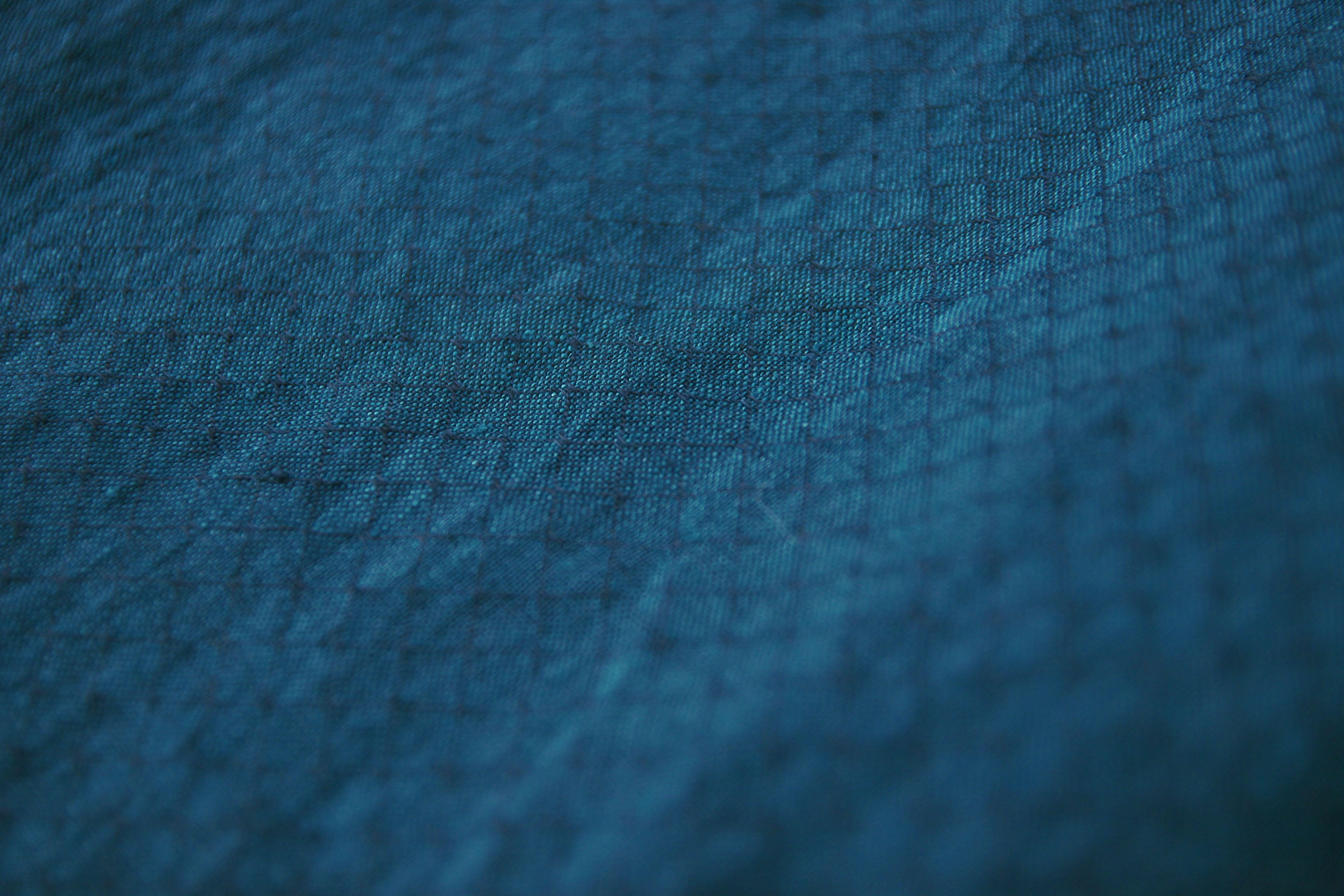Hay pellavamekko 3/4-hiha, sininen - Nouki