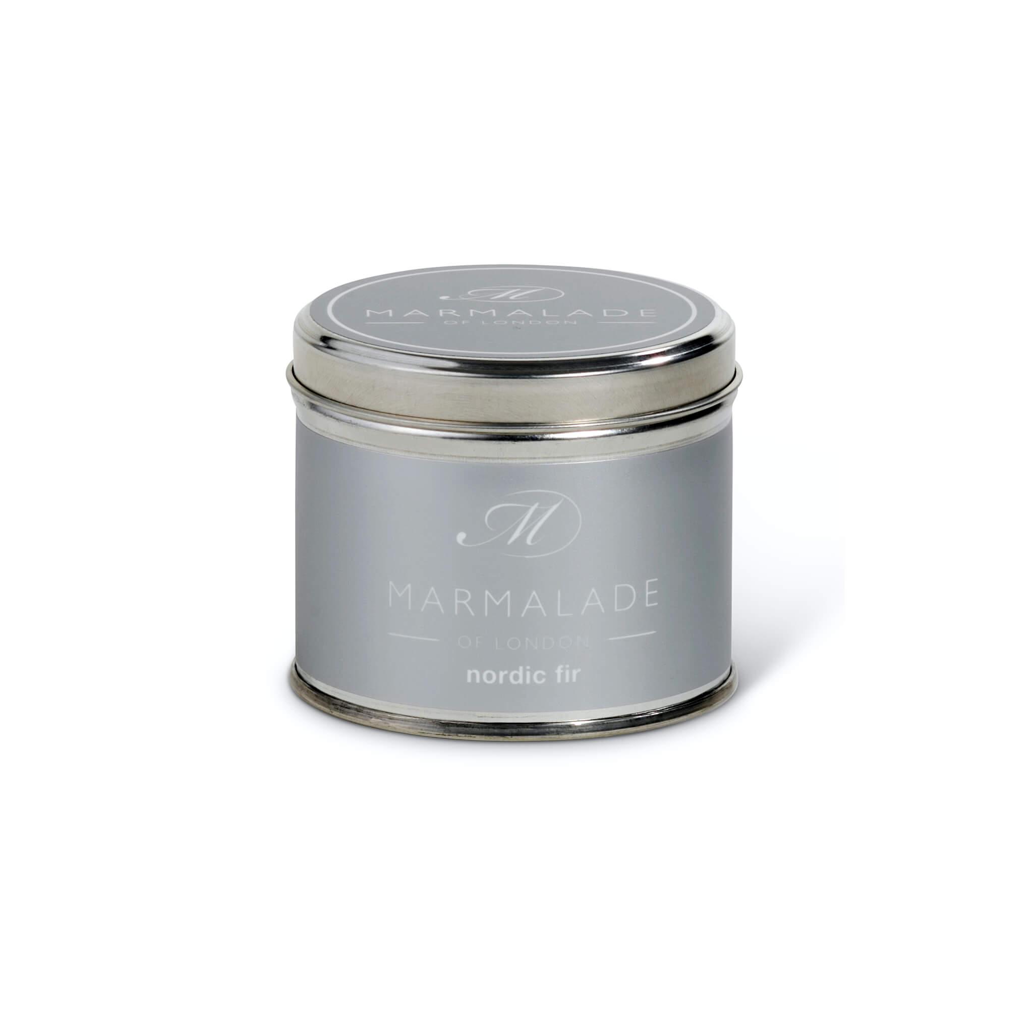 Nordic Fir Medium Tin Candle