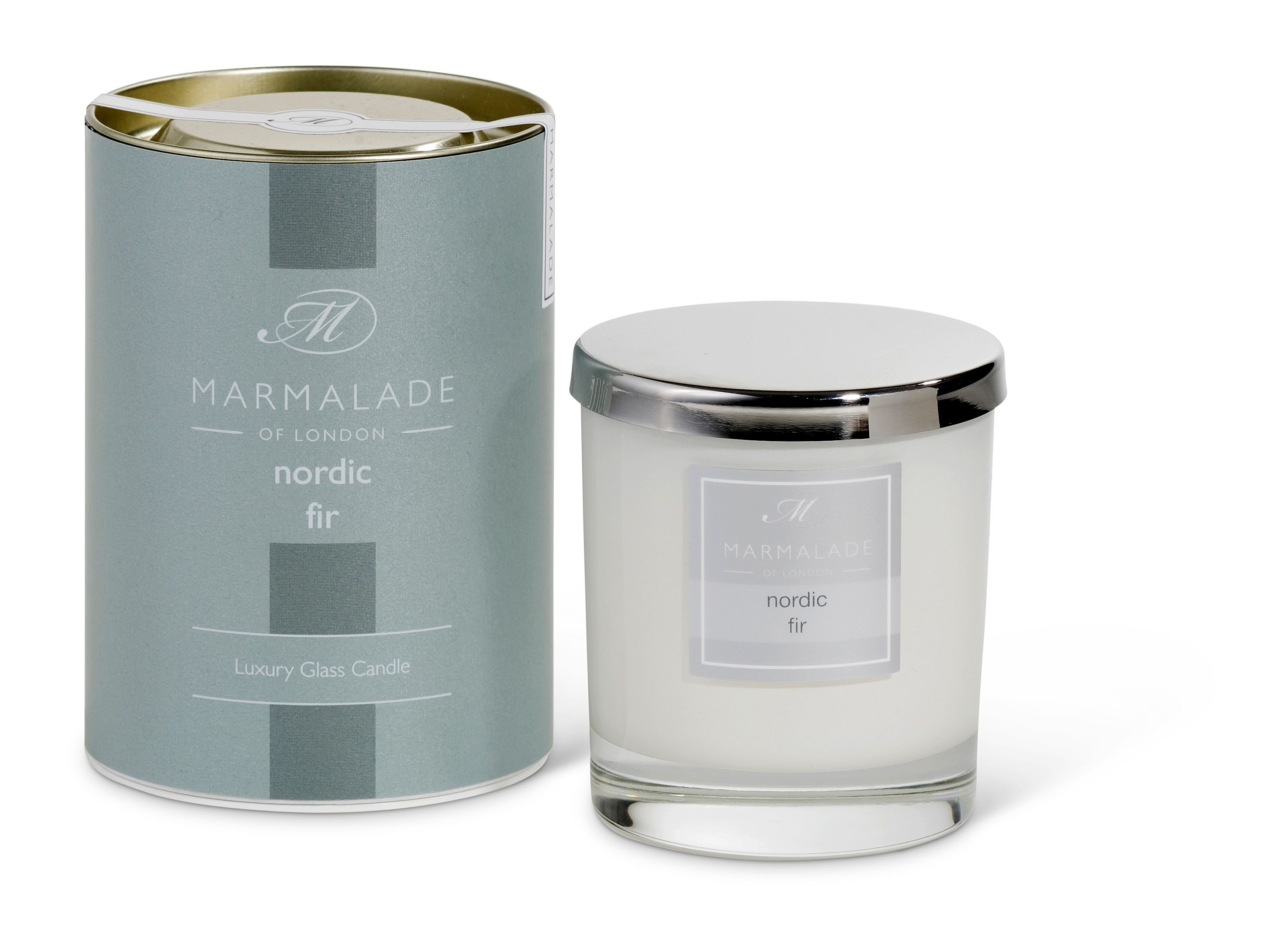 Nordic Fir Glass Candle