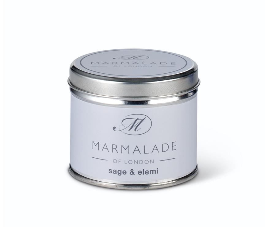 Sage & Elemi Medium Tin Candle