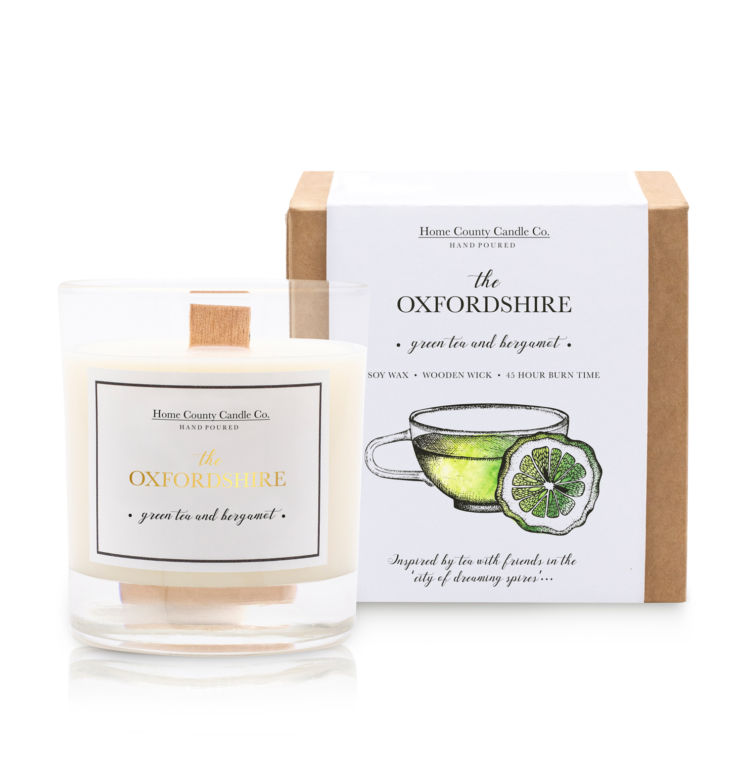 The Oxfordshire Soy Candle