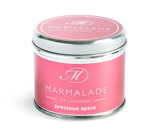 Precious Spice Medium Tin Candle