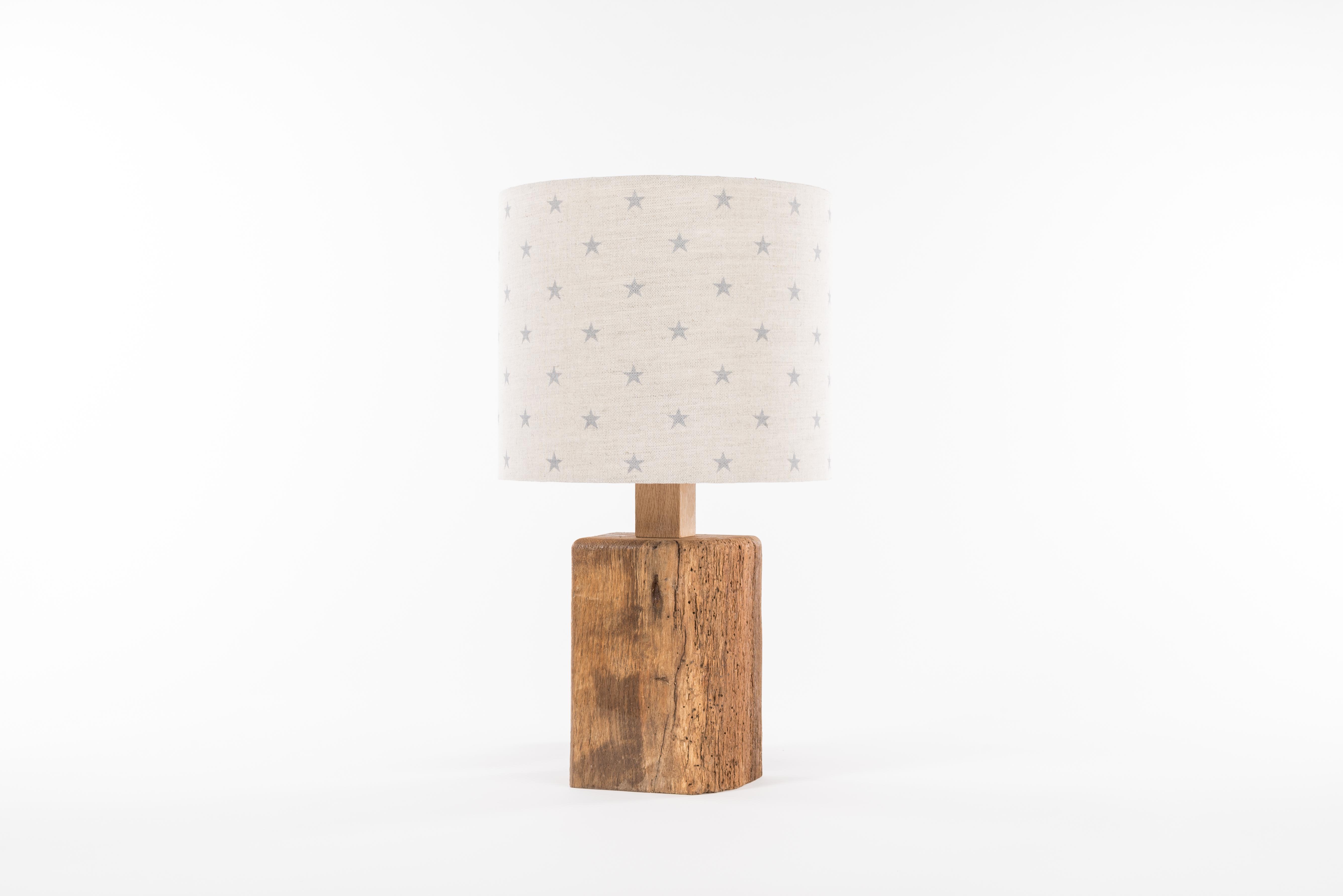 Oak Beam Lamp