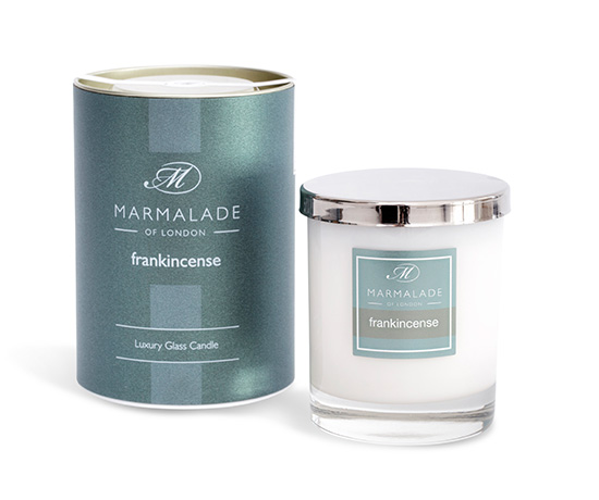 Frankincense Glass Candle
