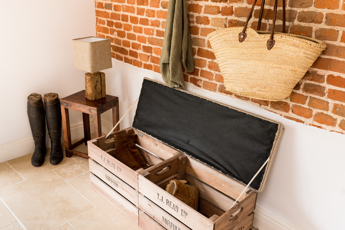 Apple Crate  Double Storage Bench