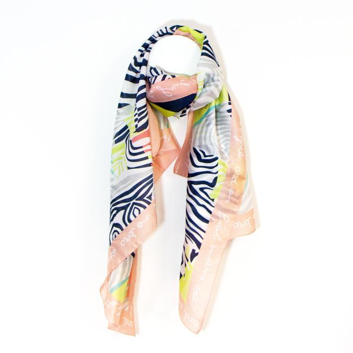 Zebra Silk Touch Scarf