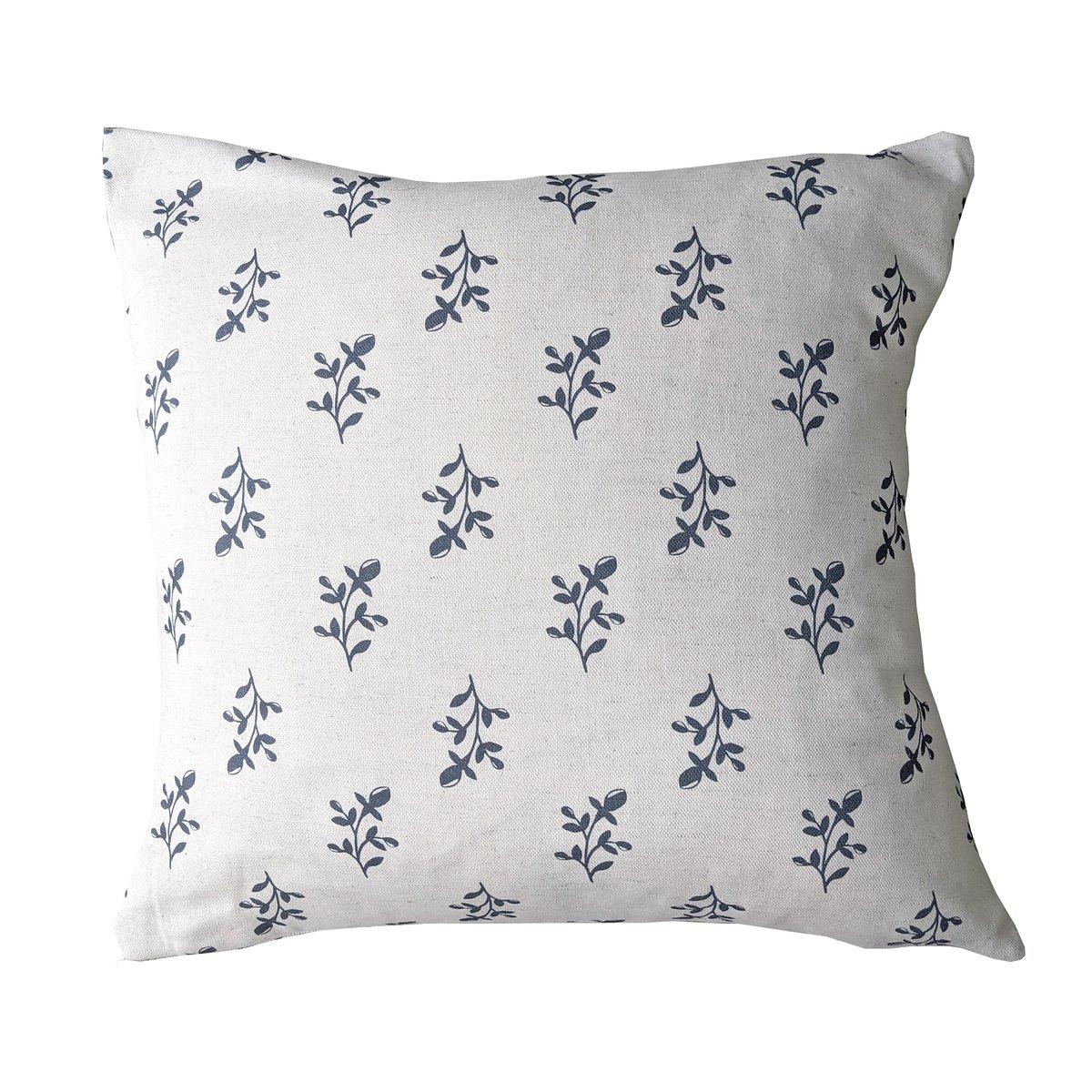 Linen Cushion- Navy Maisie
