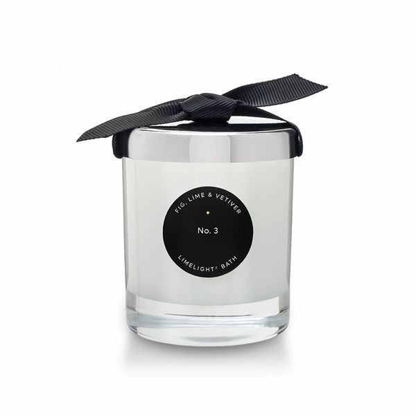 Fig, Lime & Vetiver Glass Candle