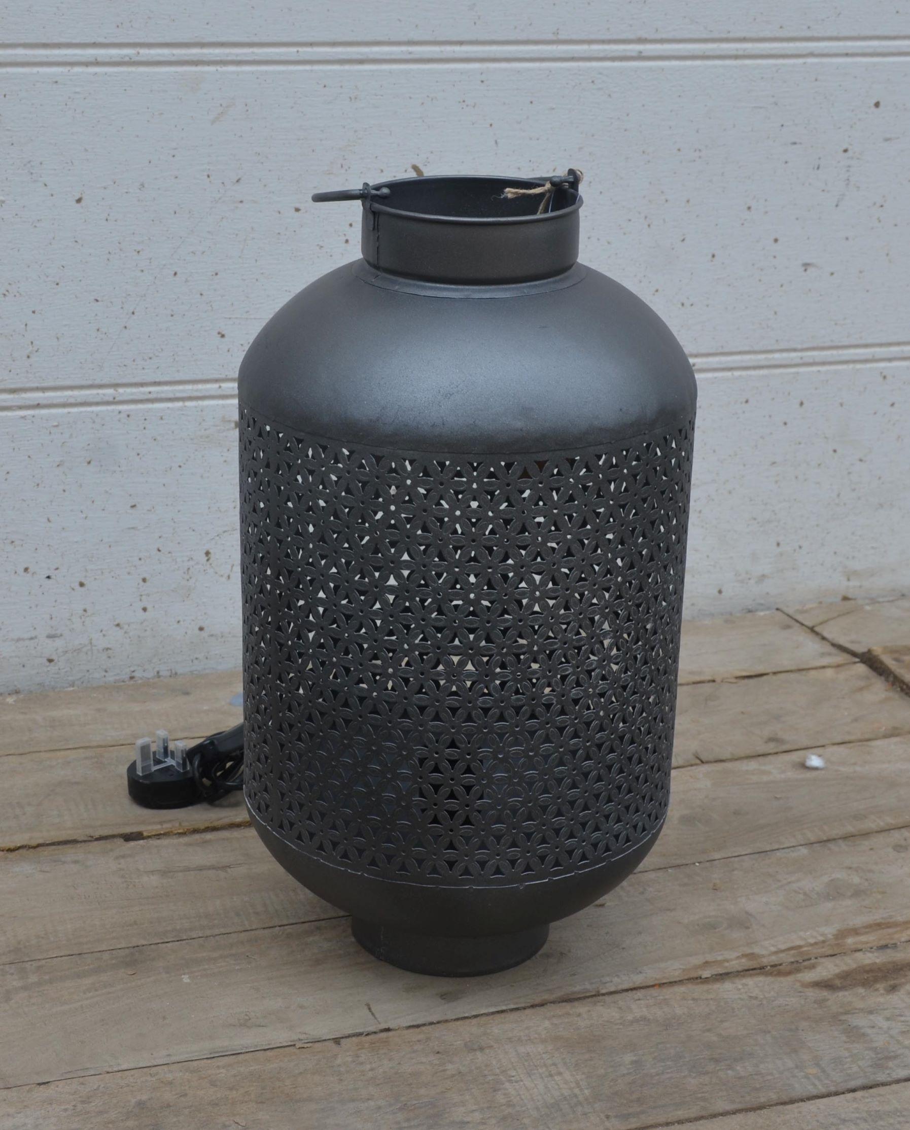 Large Metal Table Lamp