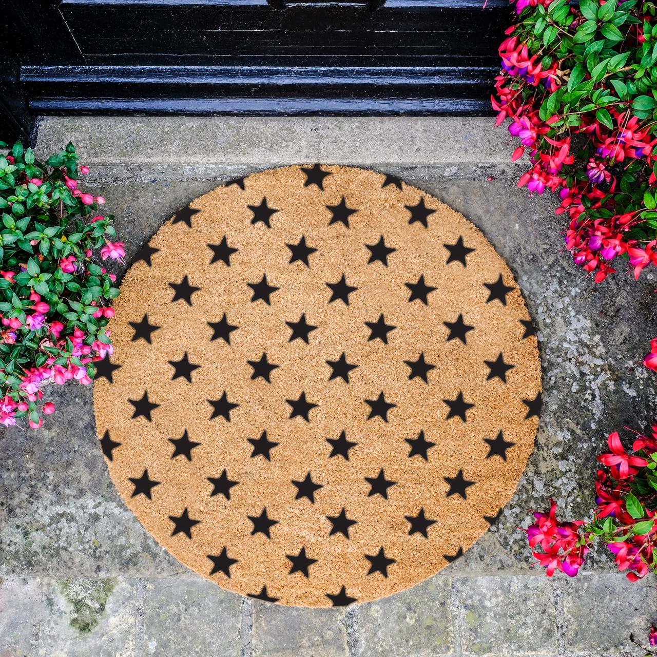 Artsy Circle Doormats