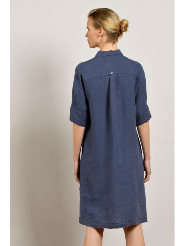 MAT DE MISAINE ROVER LINEN SHIRT DRESS