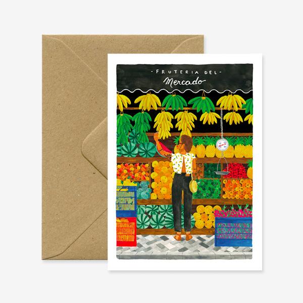 MERCADO GREETINGS CARD