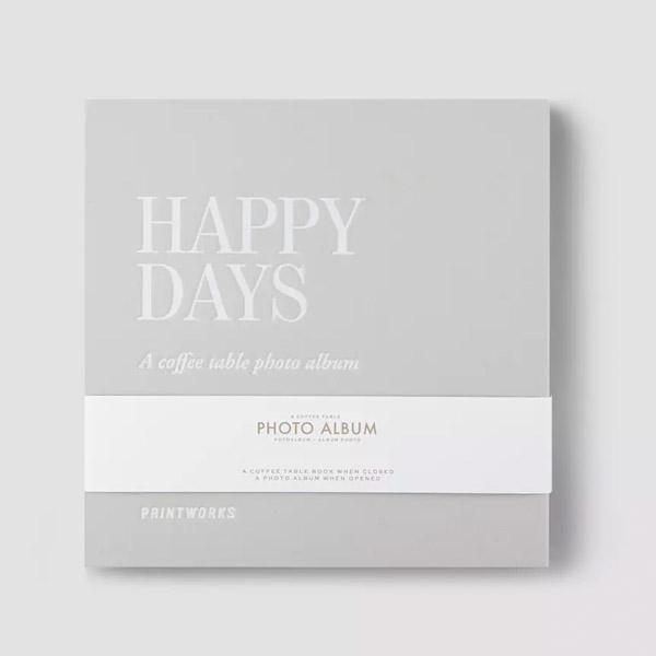 HAPPY DAYS COFFEE TABLE PHOTO ALBUM