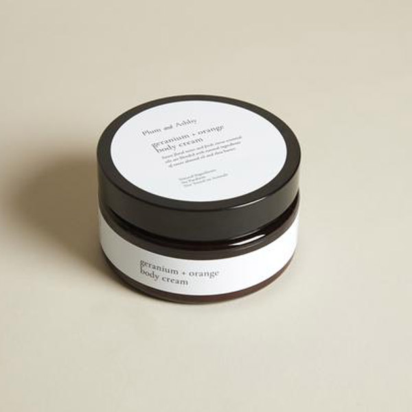 GERANIUM & ORANGE BODY CREAM