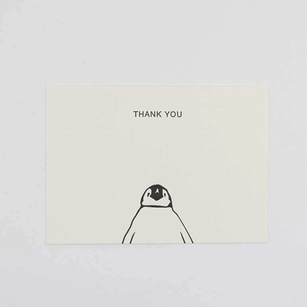 PENGUIN THANK YOU CORRESPONDENCE SET OF SIX