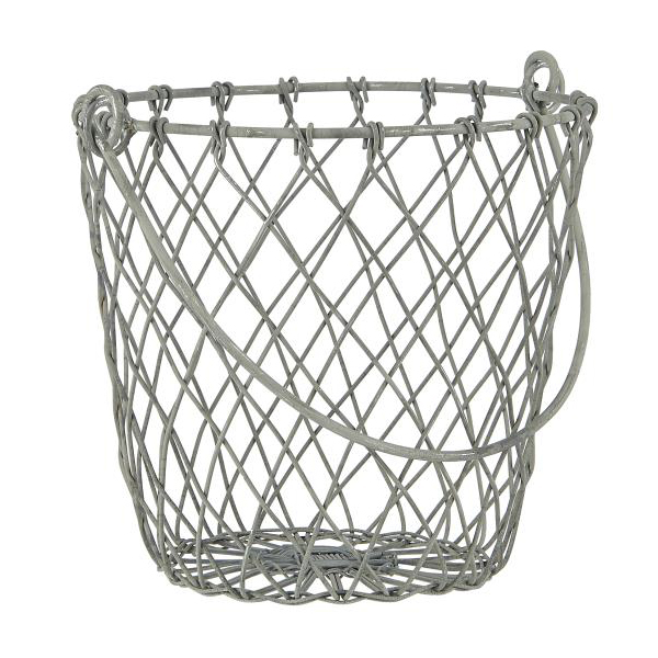 BASKET WIRE CONICAL WITH HANDLE