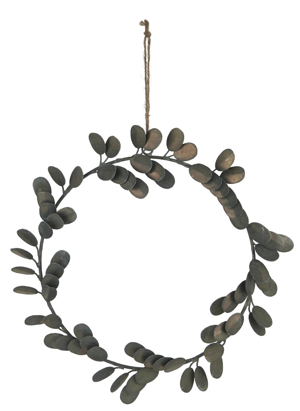 WREATH FOR HANGING LEAVES