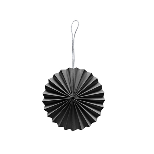DARK GREY PAPER DECORATION