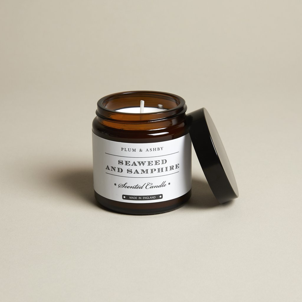 SEAWEED AND SAMPHIRE TRAVEL CANDLE