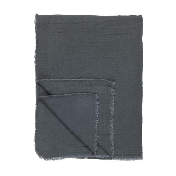 THROW/TABLE CLOTH MIDNIGHT BLUE