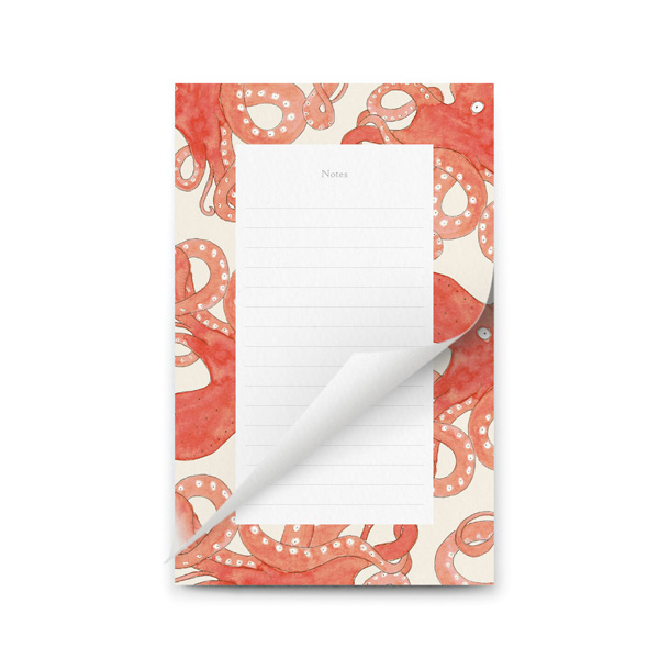 TO DO LIST NOTEPAD OCTOPUS DESIGN