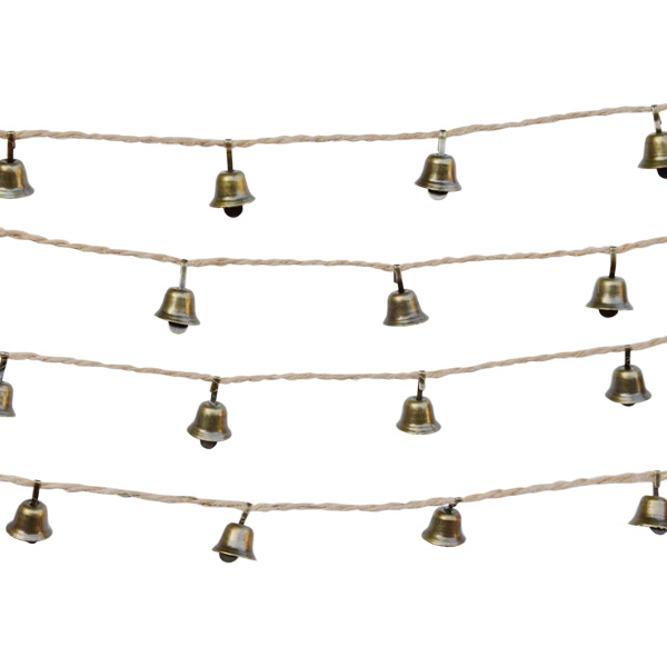 STRING OF BELLS DECORATION 2.5M