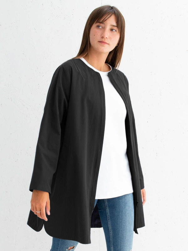 CHALK BLACK MIA COAT