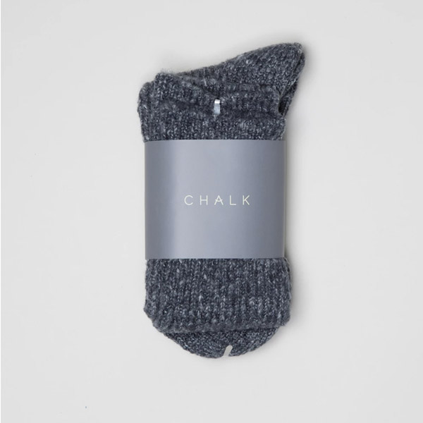 CHALK CHARCOAL SOCKS