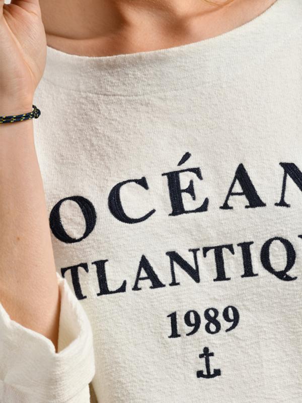 MAT DE MISAINE MODICA OCEAN JUMPER WHITE