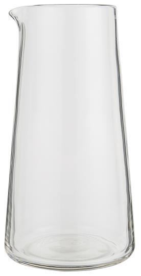 GLASS PITCHER JUG CLEAR