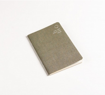 LINEN COVERED MEMO NOTEBOOK