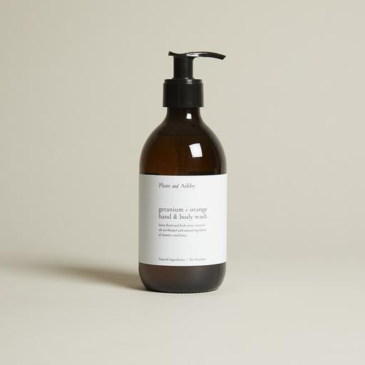 GERANIUM & ORANGE HAND AND BODY WASH