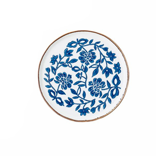 MOLLY BLUE & WHITE PLATES THREE DIFFERENT DESIGNS AVAILABLE