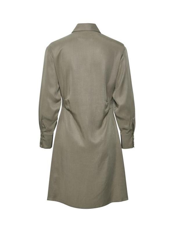 LOUNGE NINE BOP TUNIC DRESS SAGE GREY