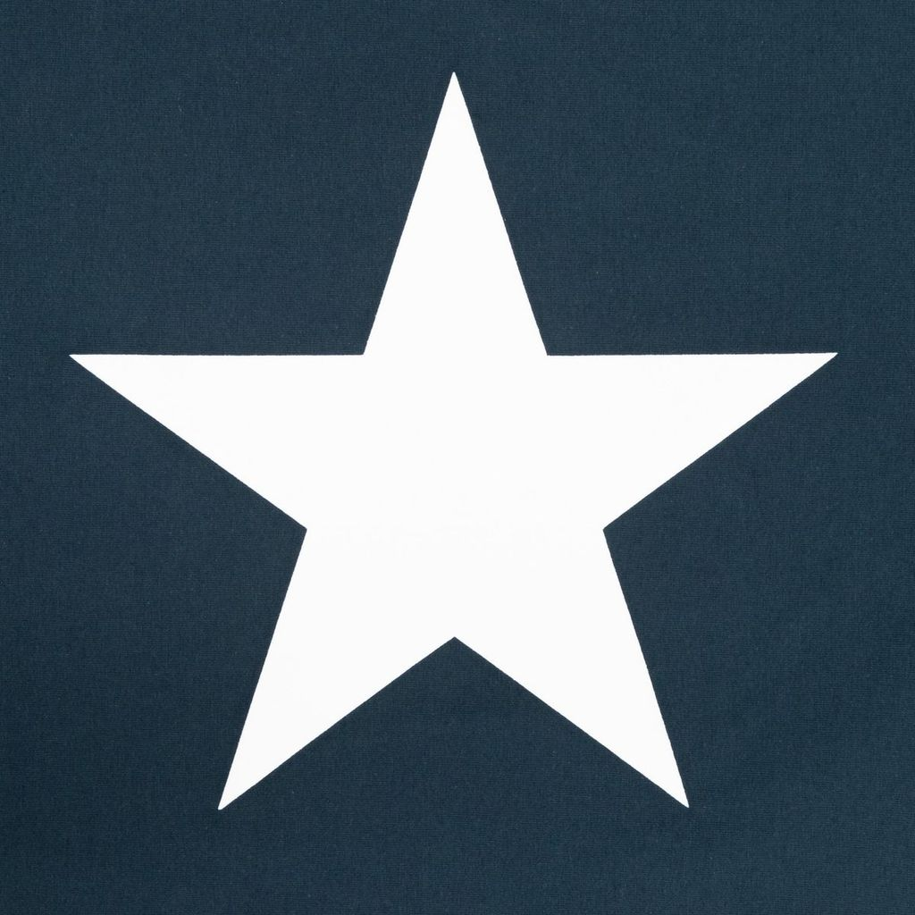 CHALK NAVY ROBYN TOP WITH LARGE WHITE STAR