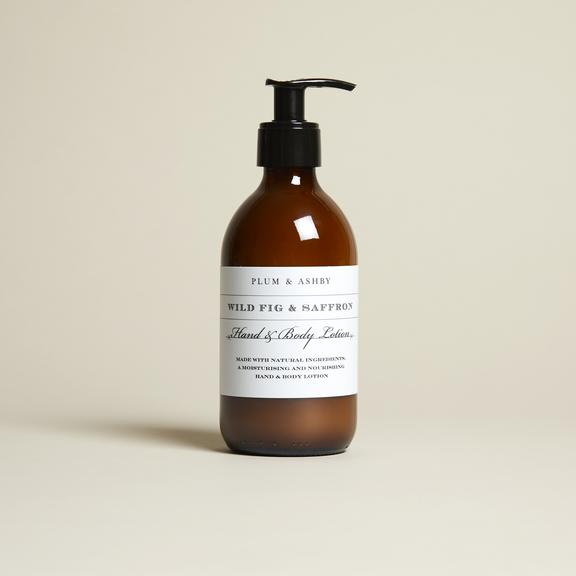 WILD FIG AND SAFFRON HAND AND BODY LOTION 300ML
